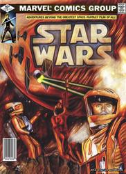 Original Marvel Star Wars 25 Homage by screamsinthevoid