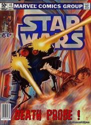 Original Marvel Star Wars 45 Homage by screamsinthevoid