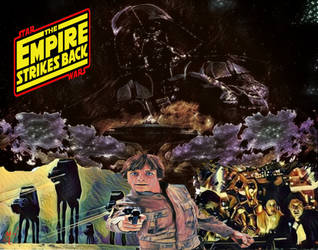 The Empire Strikes Back by screamsinthevoid