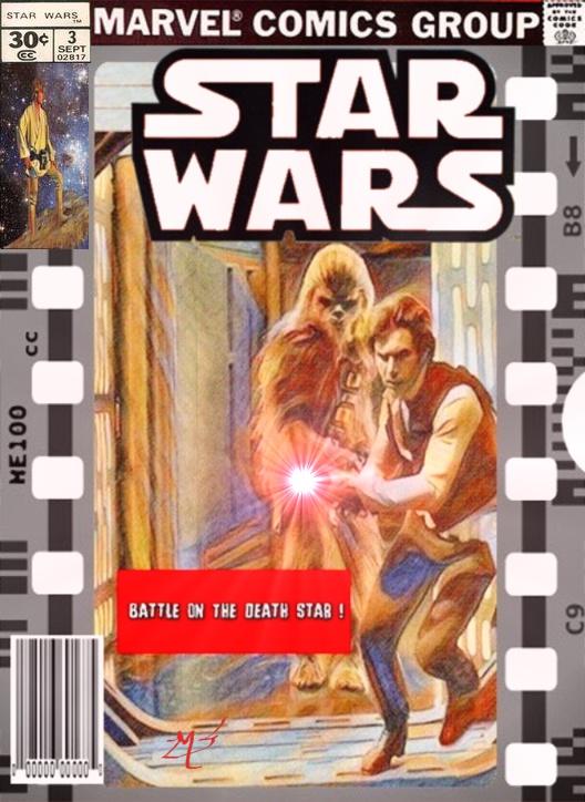 Original Marvel Star Wars 3 reinterpreted by screamsinthevoid