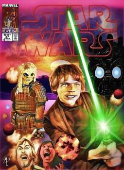 Original Marvel Star Wars 87 Homage