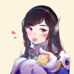 want some ? - D.va - overwatch by aayari