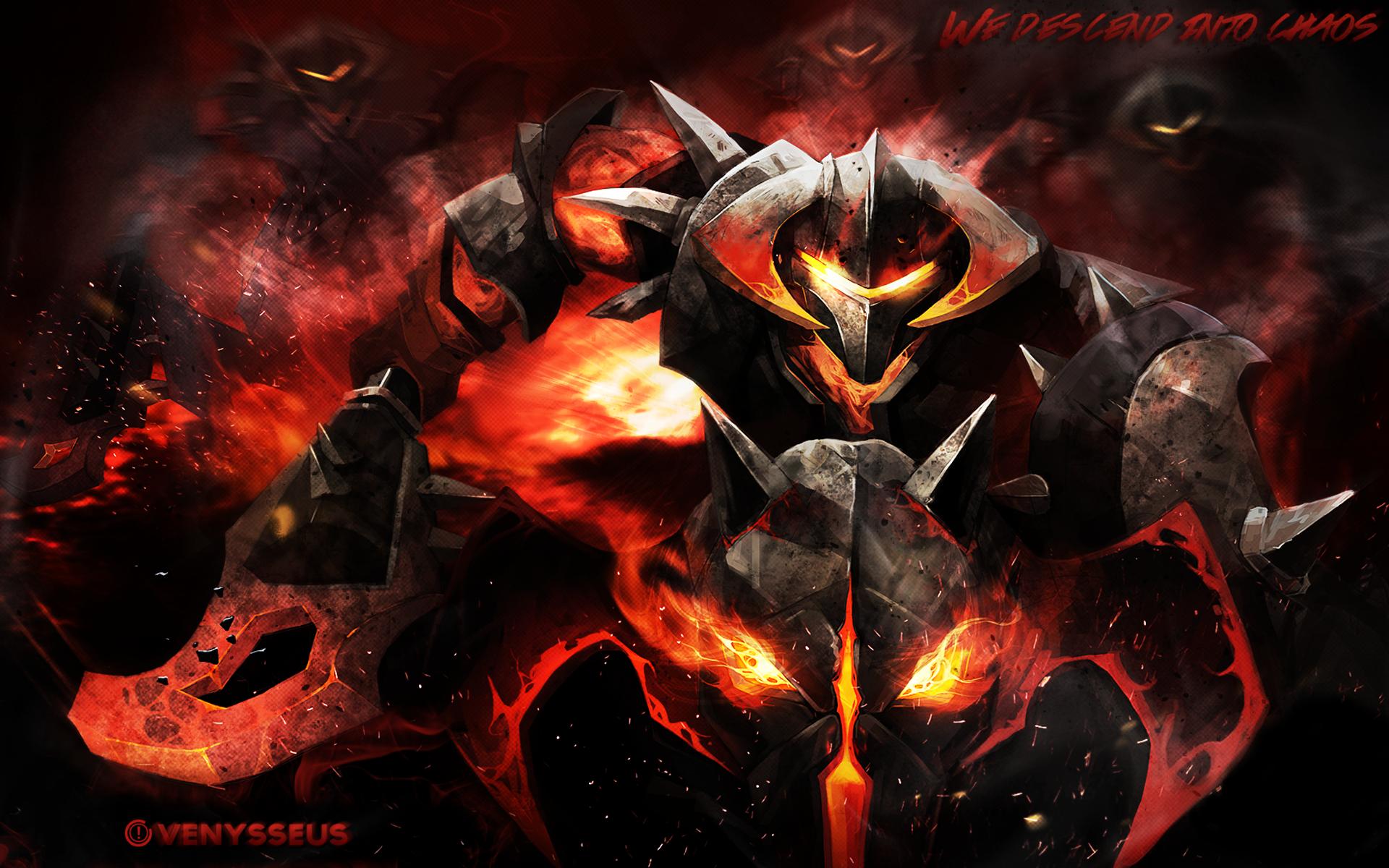 Dota 2 Wallpaper 2 Edit - Chaos Knight by VenysseusDOTA