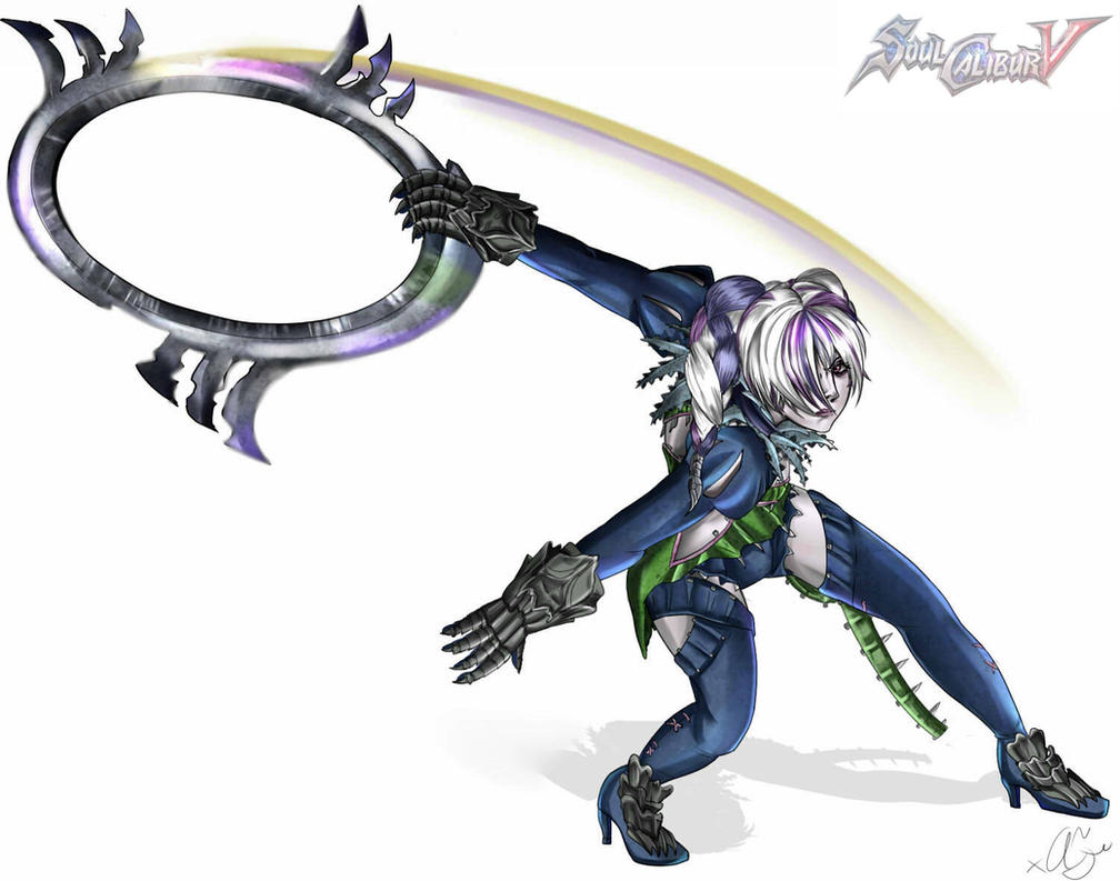 Soul Calibur Ring Blade