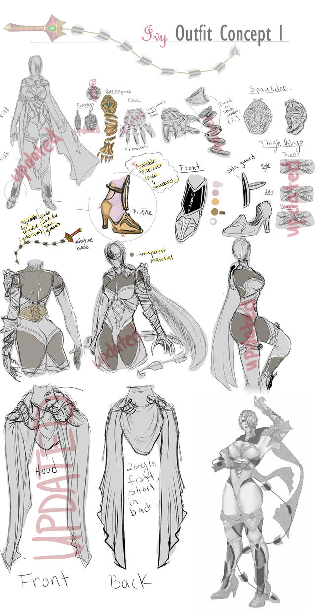 -Ivy Outfit Design- (P1) by UnderHisLight