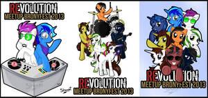 Revolution Bronyfest 2013 Signatures