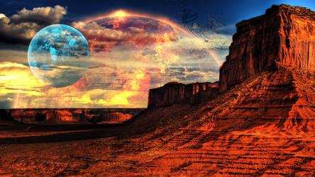 Alien Landscape (16:9 version)