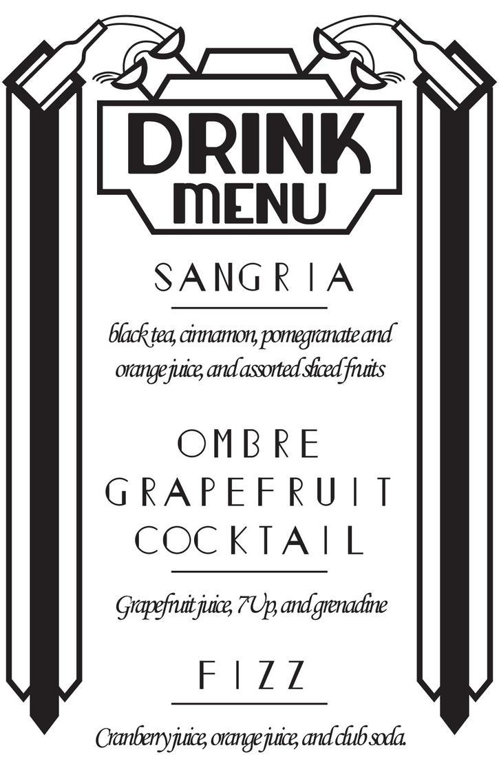 Drink List by Nalthar