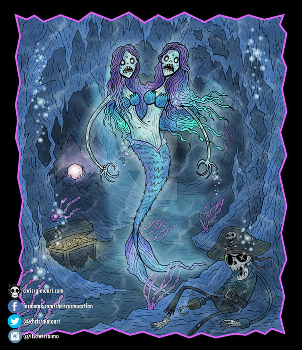 The Enchanting Mermaidens by chrisraimoart
