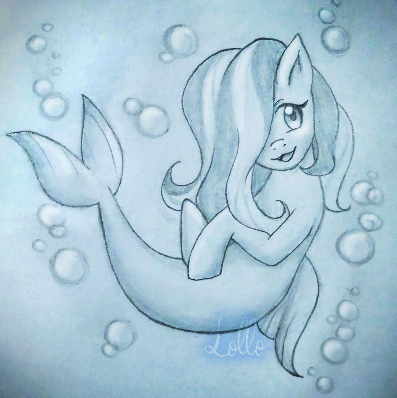 Commission - Mary the Sea Pony