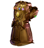 Infinity Gauntlet model v2 by matax33