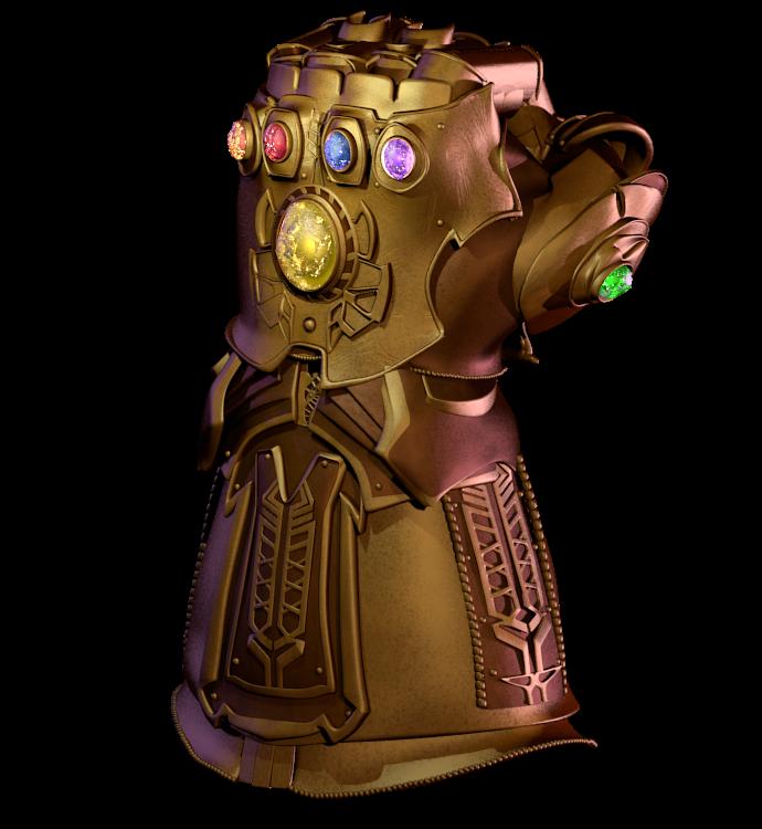 Infinity Gauntlet model v2 by matax33 on DeviantArt