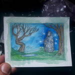 Small Monolith Spirit Sketch by Dodo13