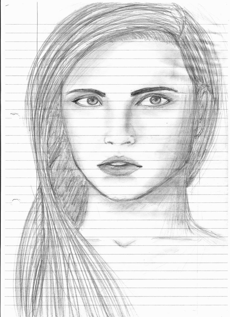 Pencil Profile Sketch from Memory by Ishouldbedoingwork17 ...