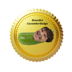 Benedict Cucumberbadge by Phillipzu