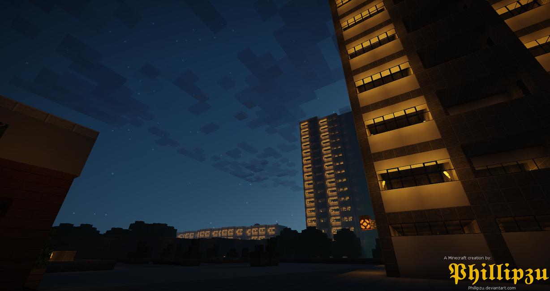 Lumby Park by night by Phillipzu