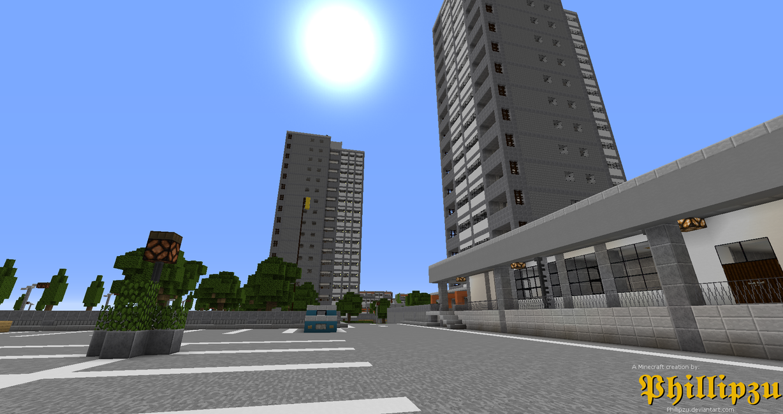 Towering concrete by Phillipzu