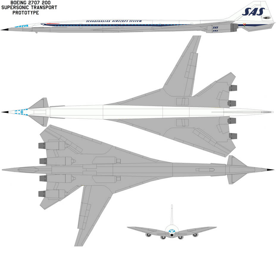 Boeing 2707-200 SAS by Phillipzu