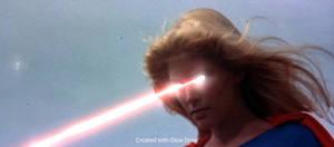 Helen Slater Supergirl Heat Vision Effect 2