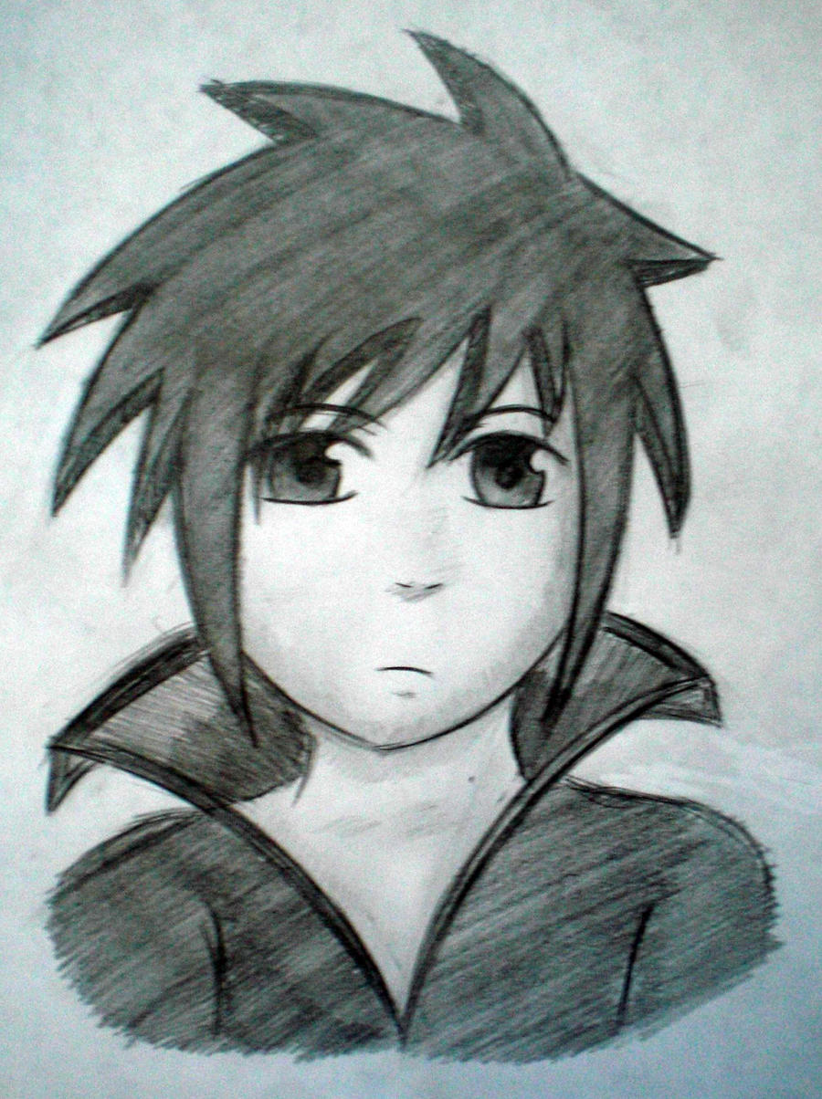 Wierd anime guy drawing 2 by jojolemonjuice on deviantart for Cool easy anime drawings