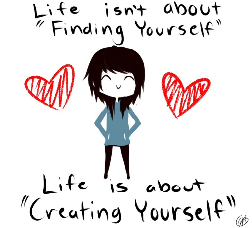 Create Yourself by JojoLemonJuice