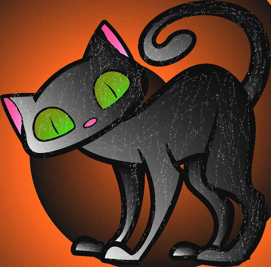 How-to-draw-a-halloween-cat-for-kids-step-7 1 by Blood ...
