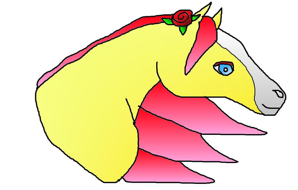 Briar Rose Head by REBELHEART1979