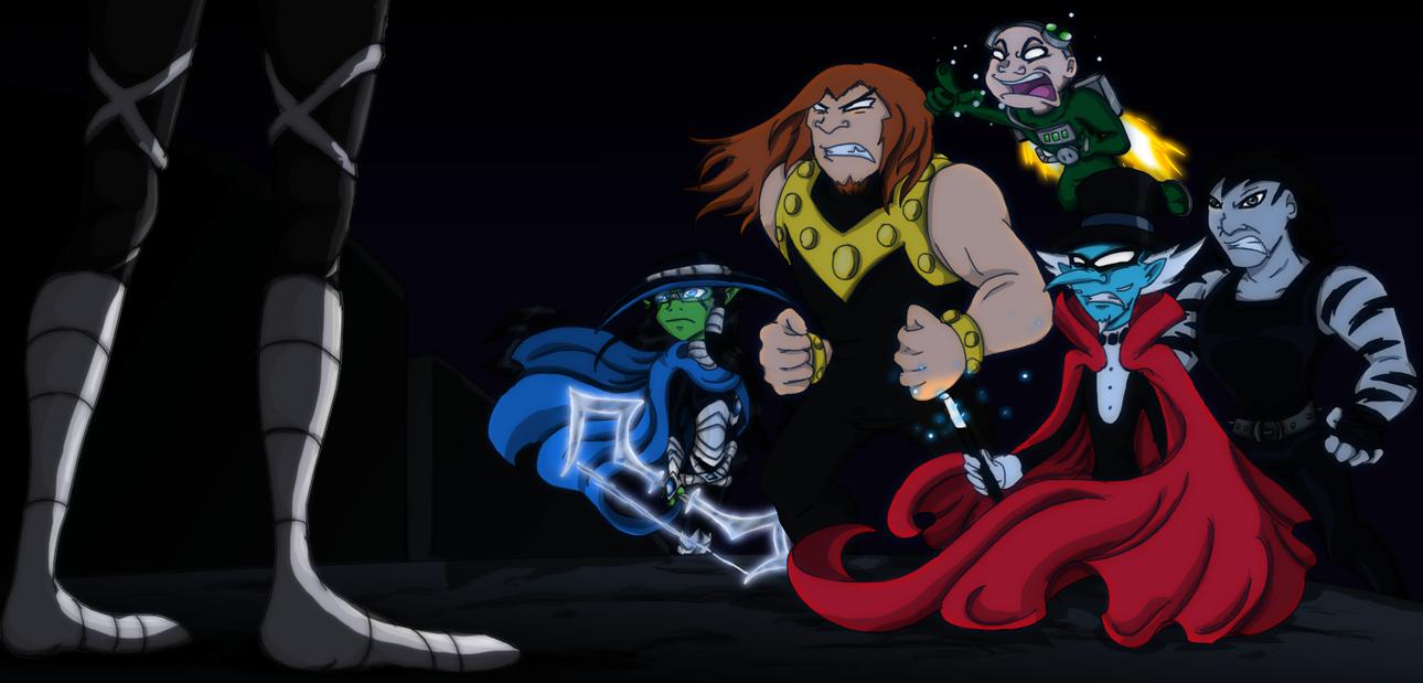Teen Titans Villain 75