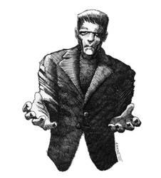 A Frankenstein's monster for Halloween