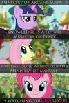 Fallout Equestria Propaganda billboards
