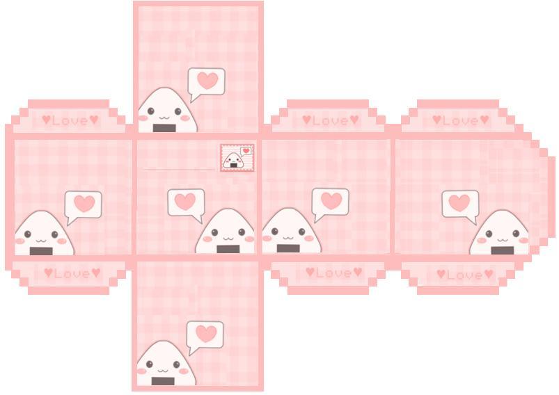 Onigiri box Template by haydenchristensenfan