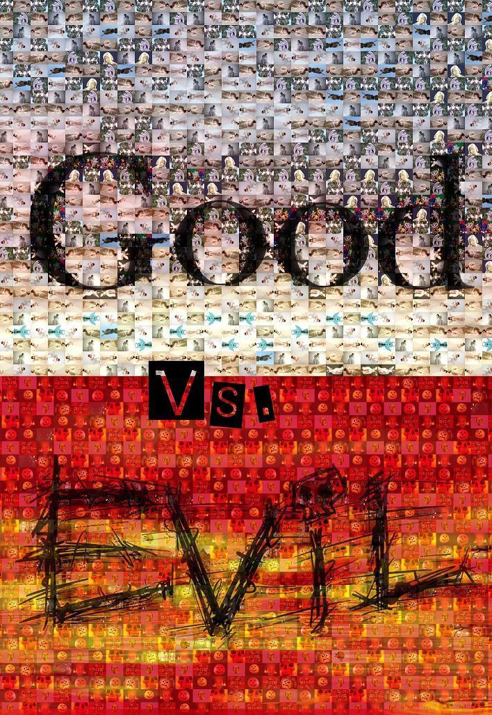 Good Vs. Evil Photomosaic By Haydenchristensenfan On