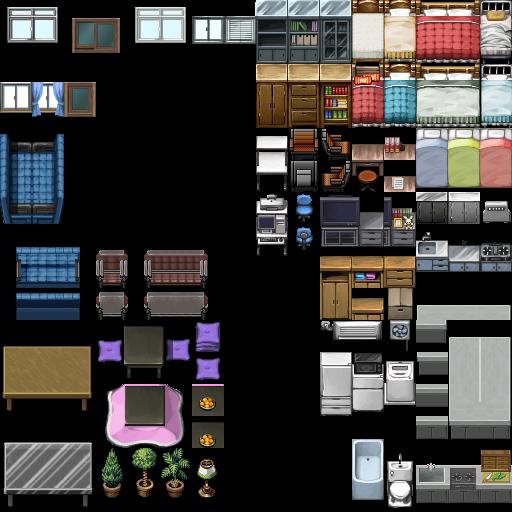 RPG Maker VX  ModernRTP TileC by painhurt