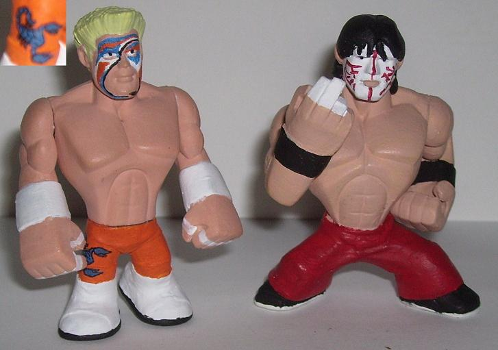 Sting and Great Muta Rumblers by Calcifer-Boheme