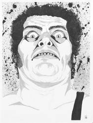 Andre the Giant ink and marker by Calcifer-Boheme
