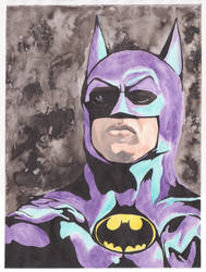 1989 Batman portrait by Calcifer-Boheme