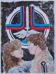 The Last Starfighter painting by Calcifer-Boheme