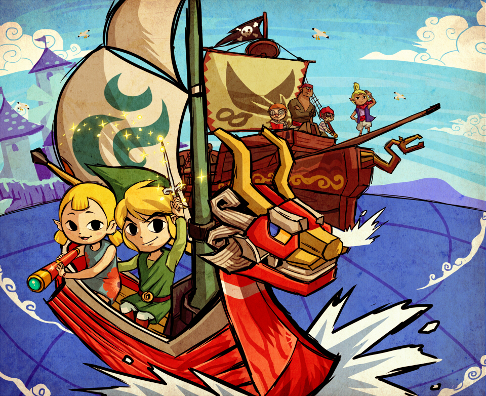 Wind Waker by dianavigo
