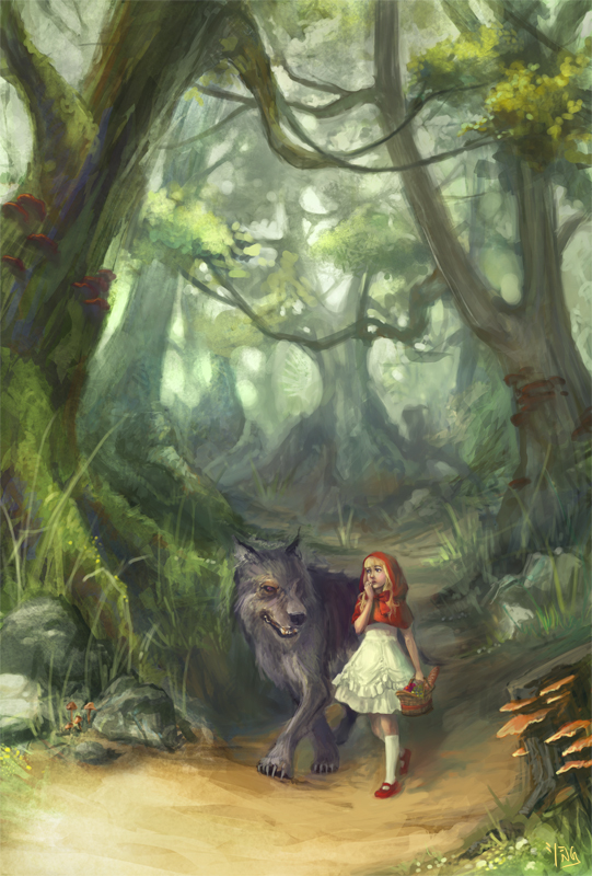 Little Red Riding Hood by lockjaw