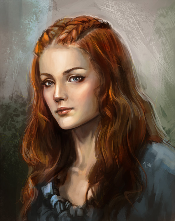 Sansa Stark by lockjaw