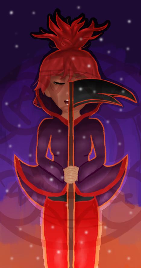Contest Necromancy Tales Aya by blackstar-shine