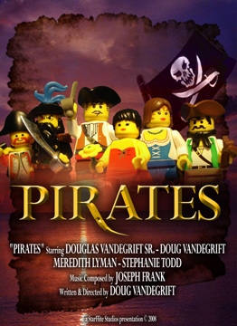 Lego Pirates Film Poster By Thenoblepirate On Deviantart