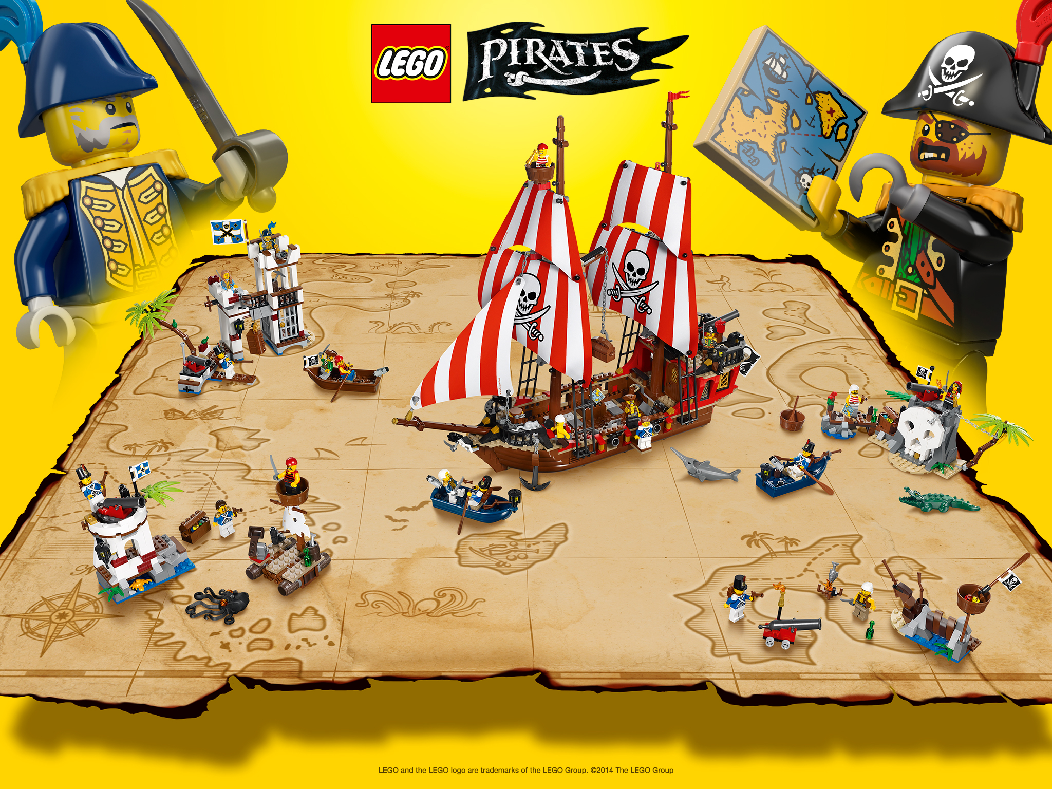 Lego Pirate Map Wallpaper By Thenoblepirate On Deviantart