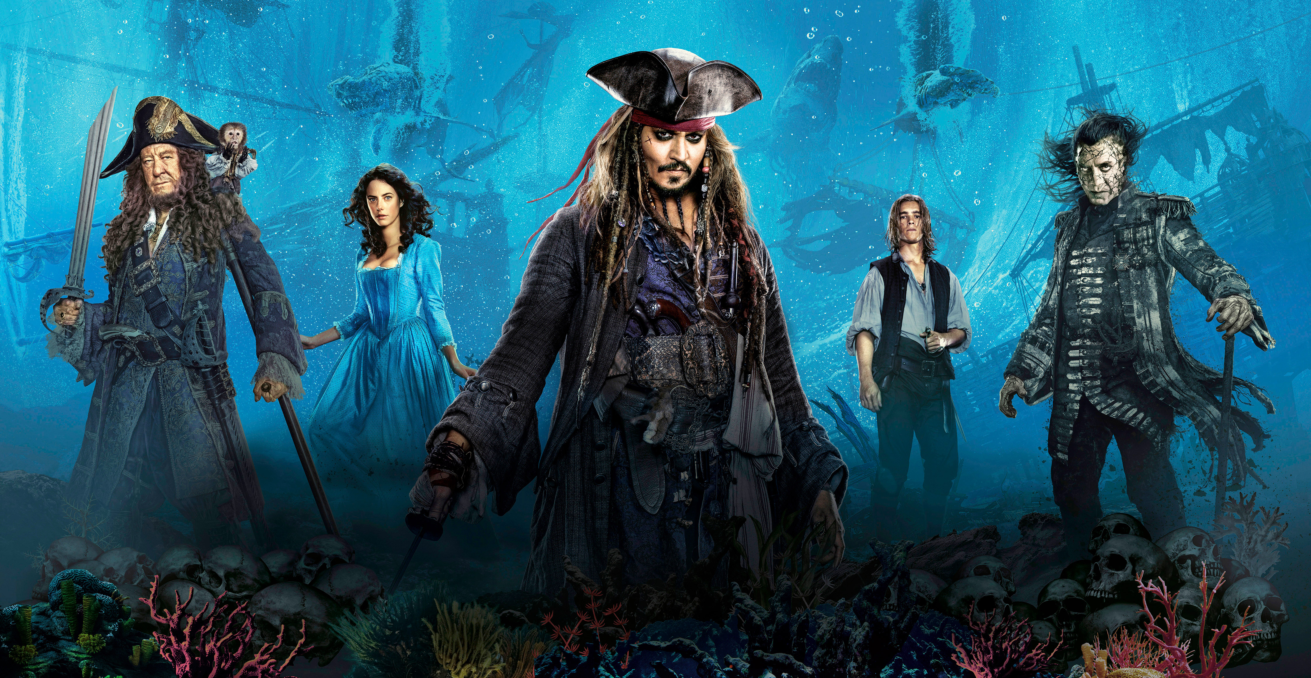 Pirates Of The Caribbean 5 Wallpapers Ship: Pirates Of The Caribbean 5 Wallpaper (by TheNoblePirate
