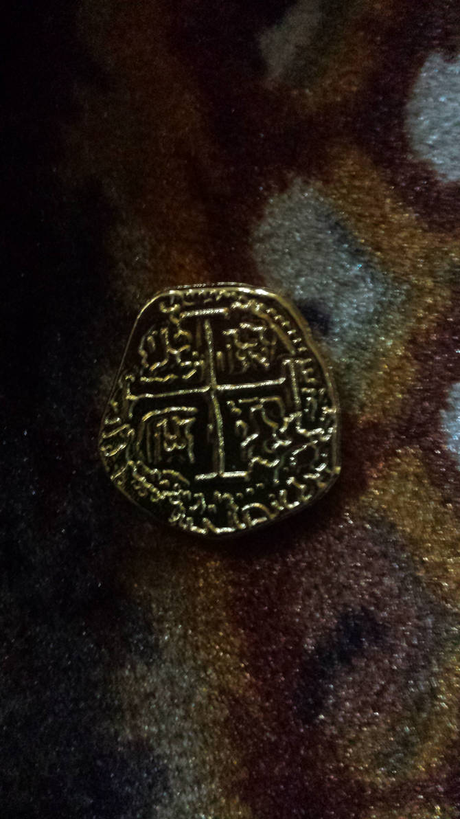 Pirate Shiny Gold Doubloon