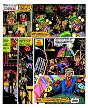 Judge Death Coloured Page 3