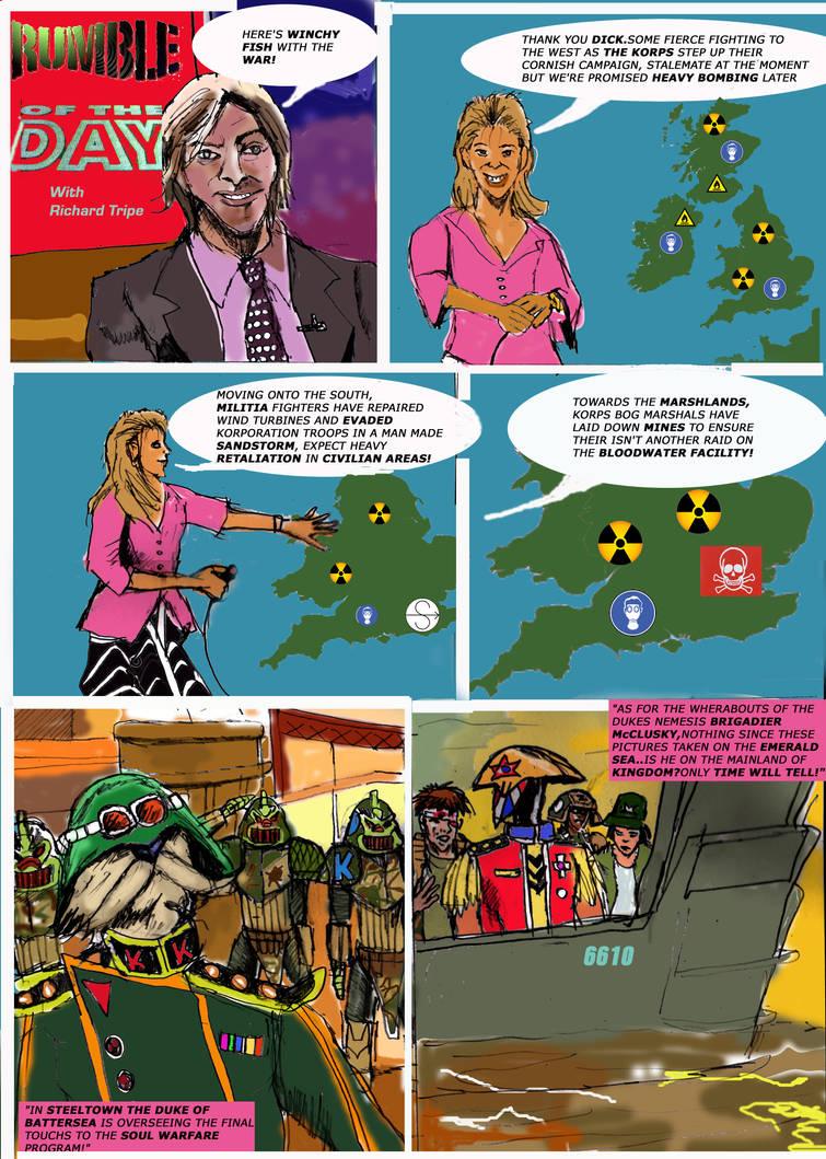 The Skorned Page 1