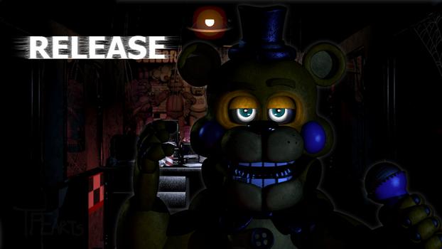 [Special/FNAF/Release] Stylized Fredbear Release by TFEarts