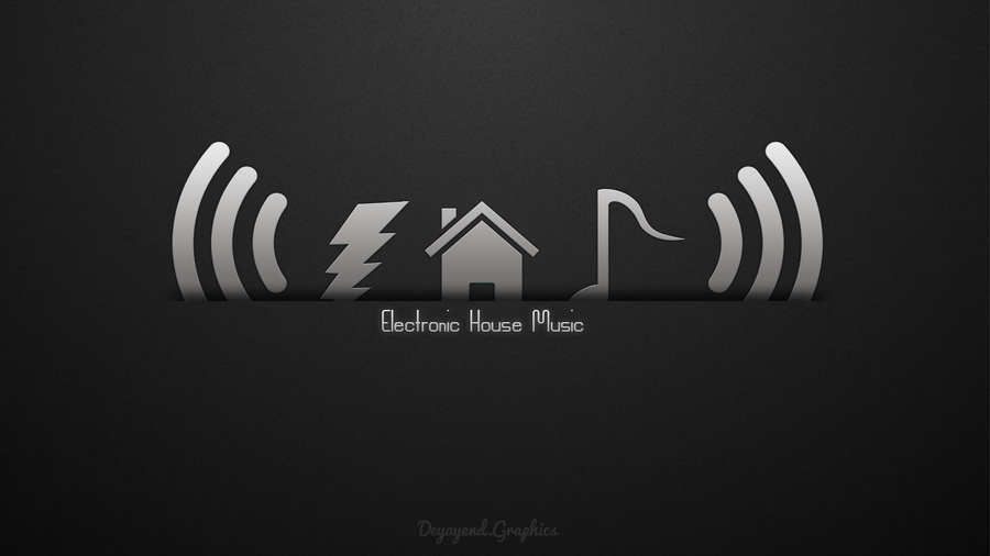 Electronic house music by deyayend on deviantart for House music art