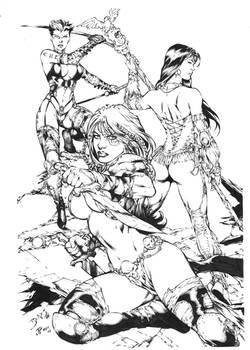 Mercenary IV by Ed Benes